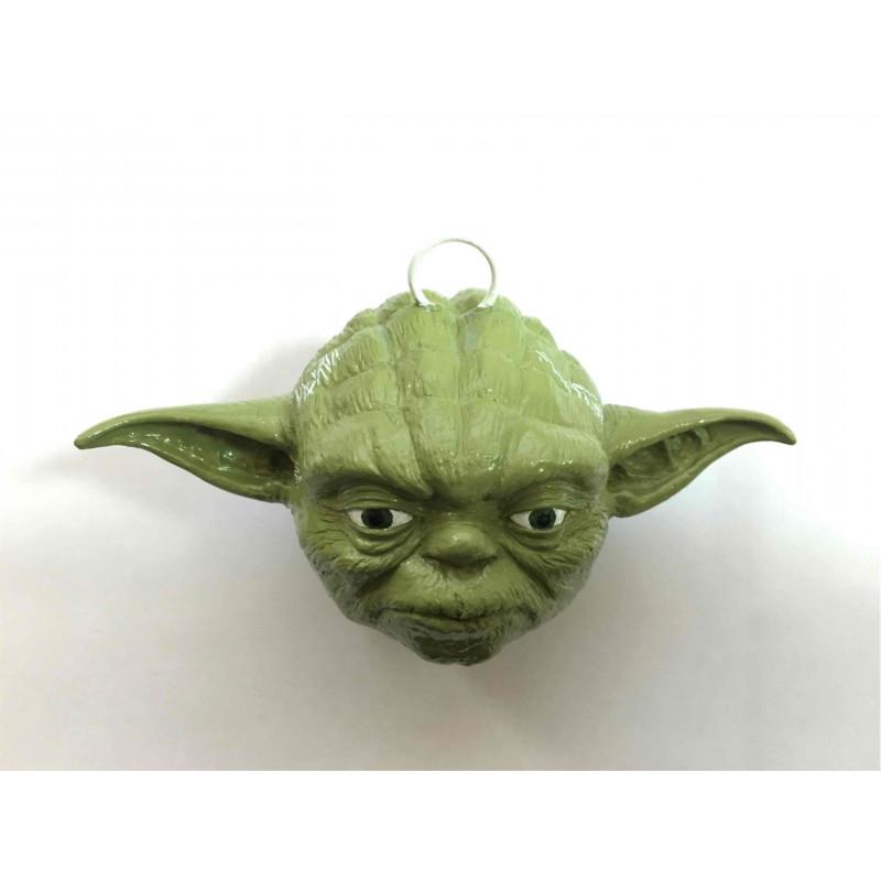Bola para árbol de Navidad - Yoda (cabeza) - Star Wars