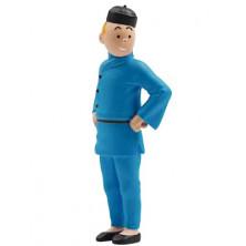 Figura PVC de Tintín - Loto azul