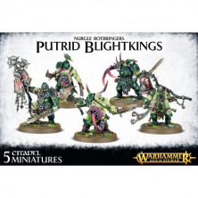 Putrid Blightkings - Warhammer - Age of Sigmar