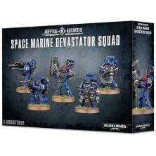 Space Marine Devastator Squad - Adeptus Startes (Warhammer 40,000)