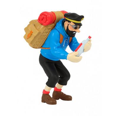 Figura de PVC - Haddock con botella vacía