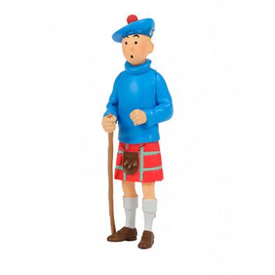 Figura de PVC - Tintín escocés