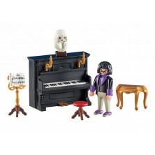 Figura - Pianista con piano - Playmobil