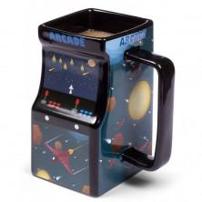 Taza térmica 3D - Máquina Arcade