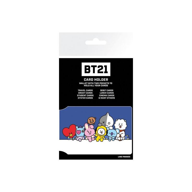 Tarjetero BT21 - Personajes