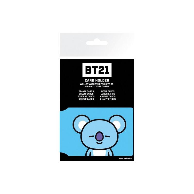 Tarjetero BT21 - Koya