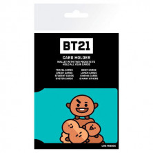 Tarjetero BT21 - Shooky