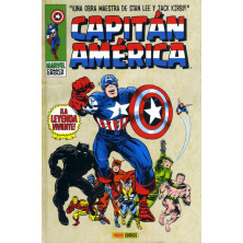 Cómic - Capitán América 01: La Leyenda Viviente