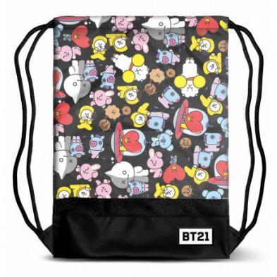 Bolsa saco de BT21 (BTS)