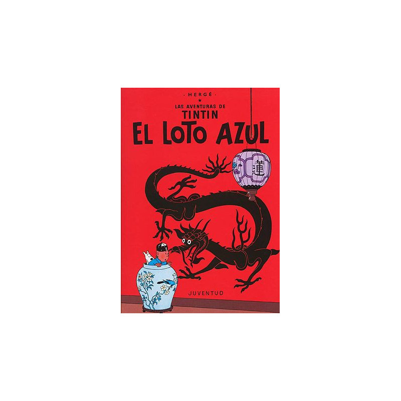 Cómic - Tintín -  El Loto Azul