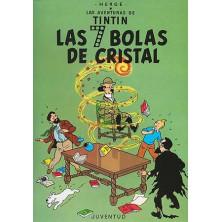 Cómic - Tintín -  Las 7 Bolas de Cristal