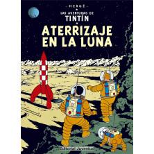 Cómic - Tintín -  Aterrizaje en la Luna