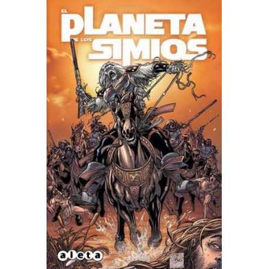 Cómic - El planeta de los simios vol. 2 - El peón del diablo