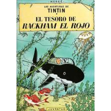 Cómic - Tintín -  El Tesoro de Rackham el Rojo