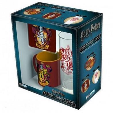 Set para regalo - Gryffindor (Harry Potter)