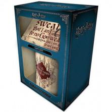 Pack para regalo - Mapa del Merodeador (Harry Potter)