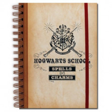 Libreta Harry Potter - Hogwarts
