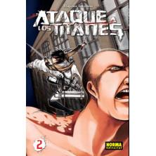 Cómic - Ataque a los Titanes 02