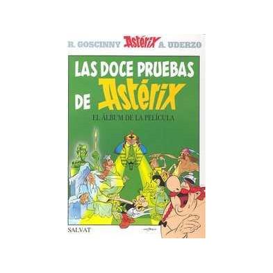 Cómic - Astérix - Las doce pruebas de Astérix - El álbum de la película