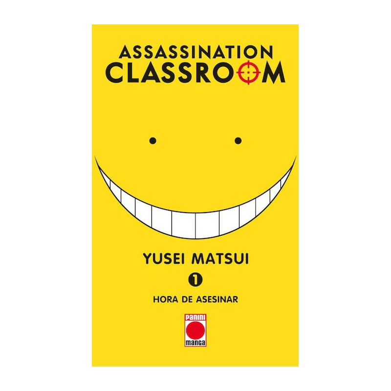 Cómic - Assassination Classroom 01