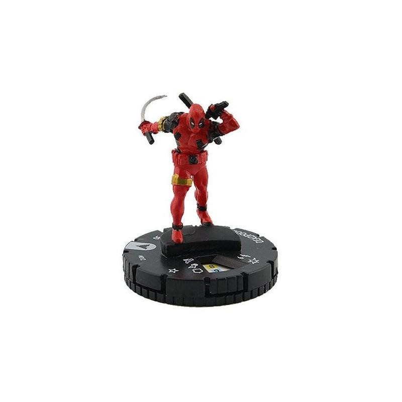 Figura de Heroclix - Deadpool 012