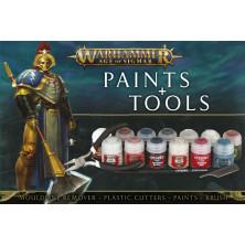 Set de Pinturas y Herramientas - Warhammer - Age of Sigmar