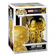 Figura Funko Pop - Ant-man cromado - Marvel Studios 384