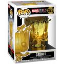 Figura Funko Pop - Groot cromado - Marvel Studios 378