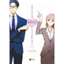 Cómic - Qué difícil es el amor para un otaku 01