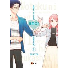 Cómic - Qué difícil es el amor para un otaku 03