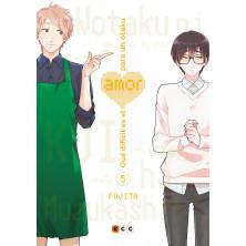 Cómic - Qué difícil es el amor para un otaku 05