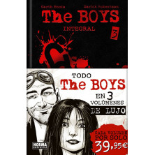 Cómic - The Boys 03 (integral)