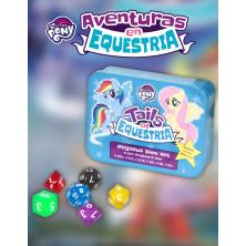 Caja de dados Pegaso - My Little Pony: Aventuras en Equestria