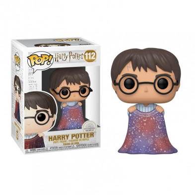 Figura Funko Pop - Harry Potter 112 con capa de invisibilidad