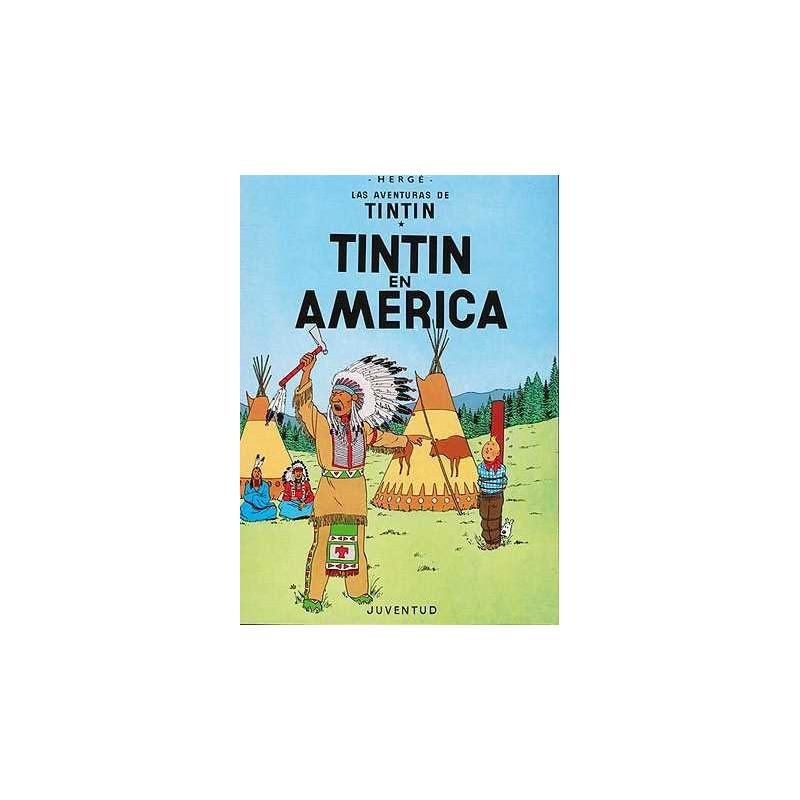 Tintín en América (tapa dura).