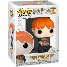 Figura Funko Pop - Harry Potter 114 - Ron Weasley con cubeta