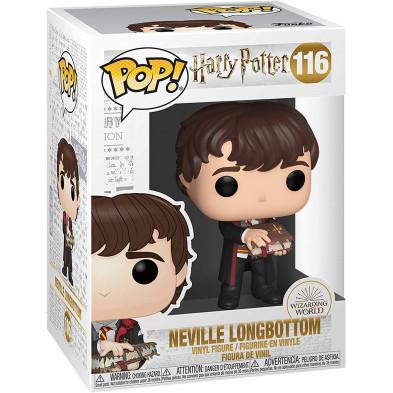 Figura Funko Pop - Harry Potter 116 - Neville con el monstruoso Libro de los monstruos
