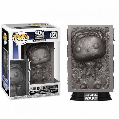 Figura Funko Pop de Star Wars 364 - Han in Carbonite (Han Solo en carbonita)