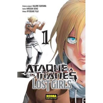 Cómic - Ataque a los Titanes - Lost Girls 01