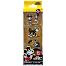 Set de 5 minifiguras - Mickey Mouse (90º aniversario)