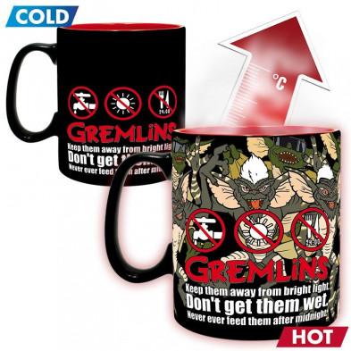 Taza térmica - Los Gremlins