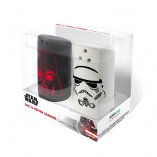 Pack de salero y pimentero - Star Wars - Darth Vader y Stormtrooper