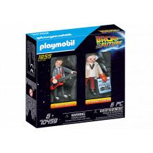 Regreso al futuro: Marty McFly y Dr. Emmett - Playmobil 70459