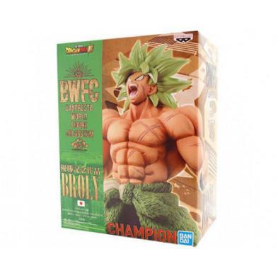Figura Dragon Ball de Broly Supersaiyan Legendario - World Figure Colosseum