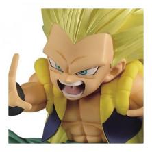 Figura Dragon Ball Super de Gotenks Super Saiyan 3 - Chosenshiretsuden - Banpresto