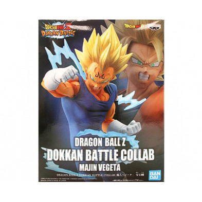 Figura Dragon Ball Z de Majin Vegeta - Dokkan Battle - Banpresto