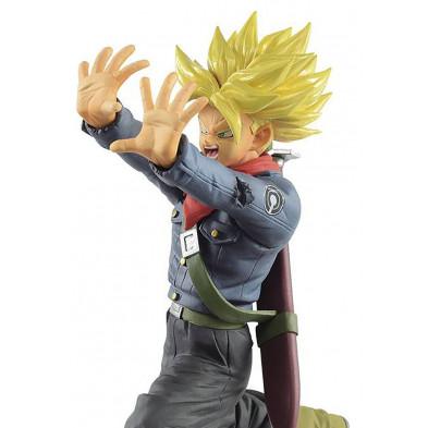 Figura Dragon Ball Super de Super Saiyan Trunks del futuro - Chosenshiretsuden - Banpresto