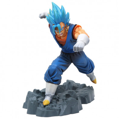 Figura Dragon Ball Z de Vegito Super Saiyan God - Dokkan Battle - Banpresto