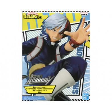 Figura My Hero Academia de Shoto Todoroki - Figure Colosseum - Banpresto