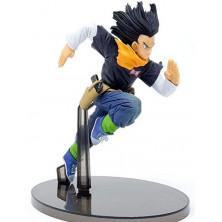 Figura Dragon Ball de Androide 17 - World Figure Colosseum - Banpresto